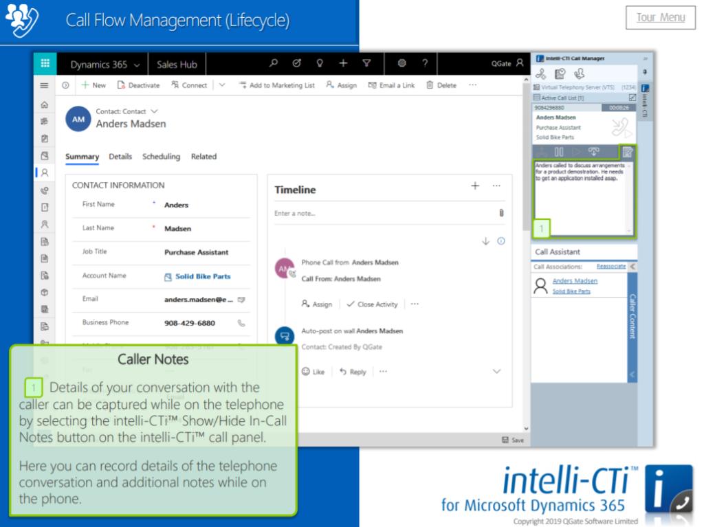 Call flow management